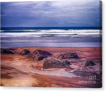Sand Coast Canvas Print