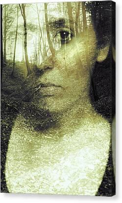Wild Spirit Canvas Print by Art of Invi