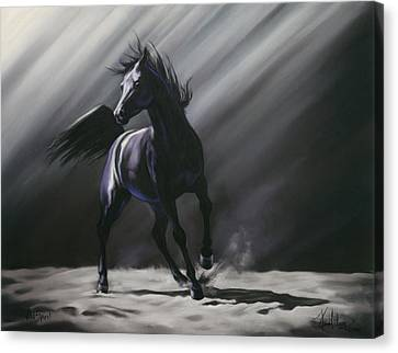 Wild Spirit Canvas Print by Kim McElroy