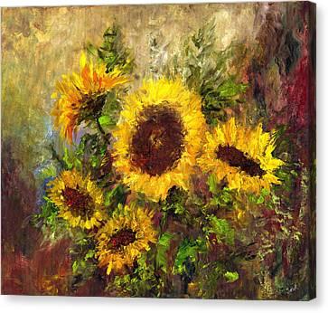 Wild Sun Canvas Print