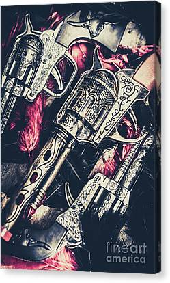Metalic Canvas Print - Wild West Weapons  by Jorgo Photography - Wall Art Gallery