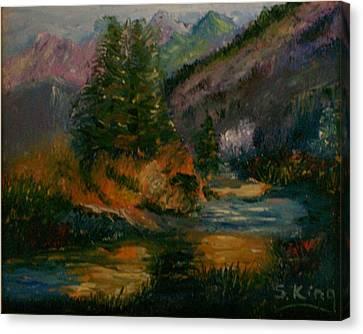 Wilderness Stream Canvas Print