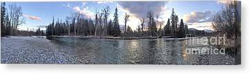 Canvas Print featuring the photograph Wilderness by Victor K