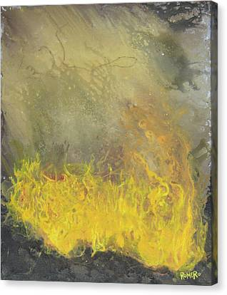 Wildfire Canvas Print by Antonio Romero