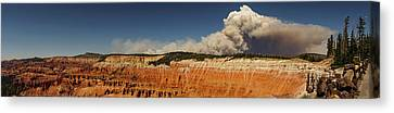 Wildfire Cedar Breaks National Monument Utah Canvas Print