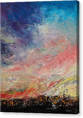 Wildfires Canvas Print - Wildfire by Michael Creese