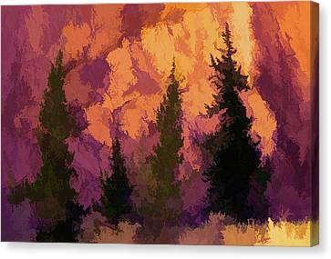 Wildfires Canvas Print