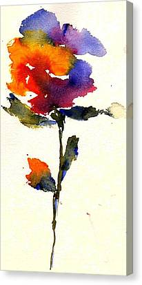Wildflower Canvas Print by Anne Duke