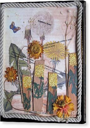 Wildflower Honey Canvas Print