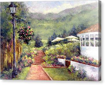 Wildflower Inn Canvas Print