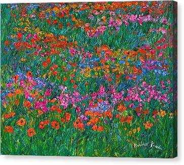 Wildflower Magic Canvas Print by Kendall Kessler