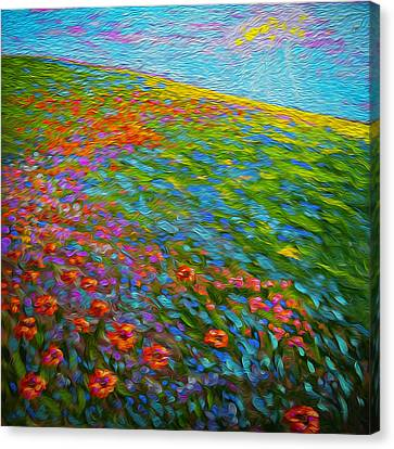 Wildflower Pastoral Canvas Print