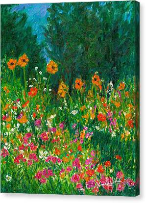 Wildflower Rush Canvas Print by Kendall Kessler