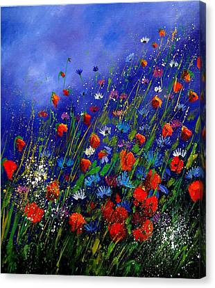 Wildflowers 78 Canvas Print by Pol Ledent