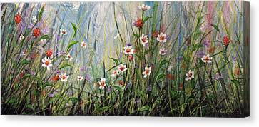 Wildflowers Canvas Print by Dee Carpenter