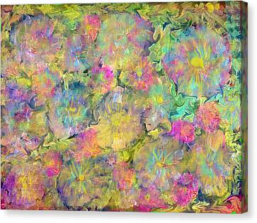 Wildflowers Canvas Print by Don  Wright