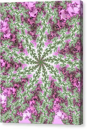 Wildflowers Canvas Print by Elaine Teague