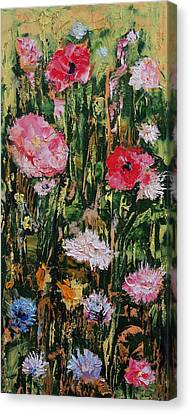 Flowers Canvas Print by Michael Creese