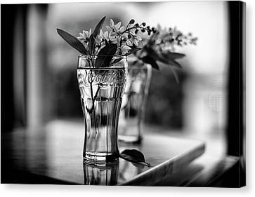 Canvas Print featuring the photograph Wildflowers Still Life by Laura Fasulo