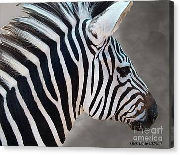 Wildside Canvas Print