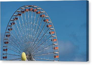 Wildwood Ferris Wheel Canvas Print