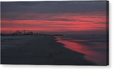 Wildwood - Red Sky In The Morning Canvas Print