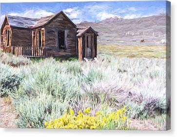 Old House Canvas Print - Will Exist Forever II by Jon Glaser