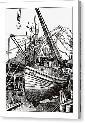 Will Fish Again Another Day Canvas Print