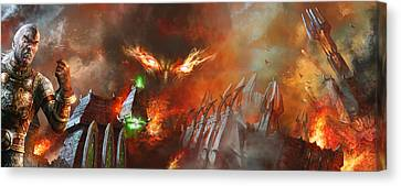 Will Of A Tyrant Canvas Print by Ryan Barger