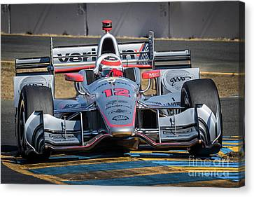 Will Power Canvas Print by Webb Canepa
