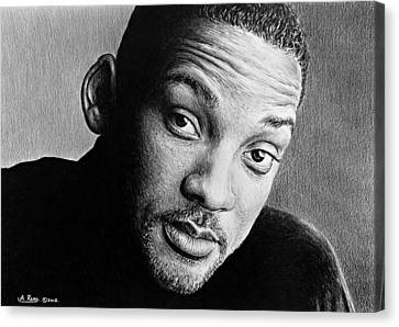 Will Smith Canvas Print by Andrew Read