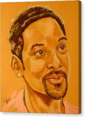 Will Smith Canvas Print by Sandra Valentini