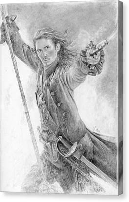 Will Turner Canvas Print by Bitten Kari