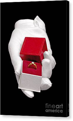 Will You Marry Me Canvas Print by Richard Thomas