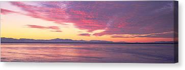 Great Salt Lake Canvas Print - Willard Bay State Park, Near Great Salt by Panoramic Images