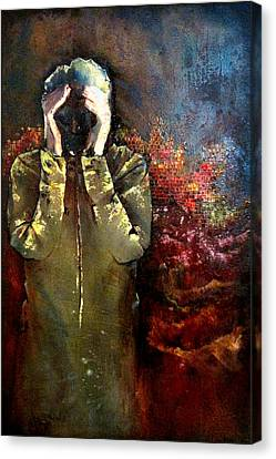 Willful Amnesia Canvas Print by Shadia Derbyshire