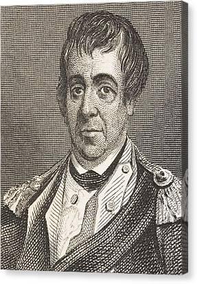 William Barton 1748 - 1831. American Canvas Print