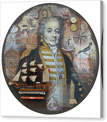 William Bligh Canvas Print
