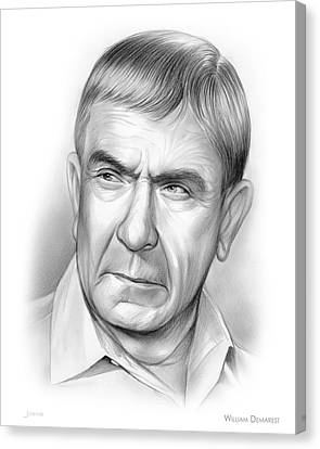 William Demarest Canvas Print by Greg Joens