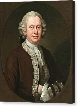 Hogarth Canvas Print - William Fitzherbert by William Hogarth