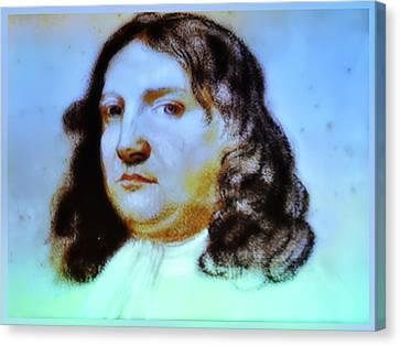 William Penn Portrait Canvas Print by Bill Cannon