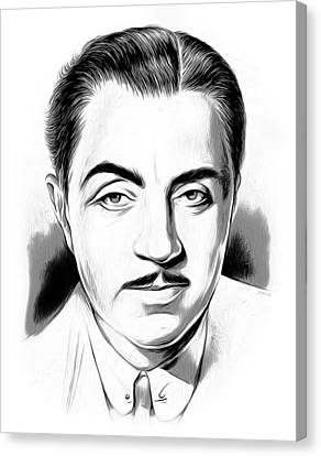 William Powell Canvas Print