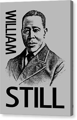 William Still Canvas Print by Otis Porritt