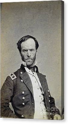 William Tecumseh Sherman Canvas Print by Granger