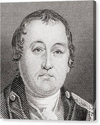 William Washington, 1752 To 1810 Canvas Print