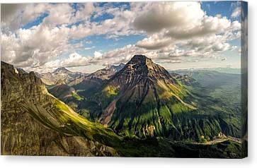 Williams Peak Alaska Canvas Print