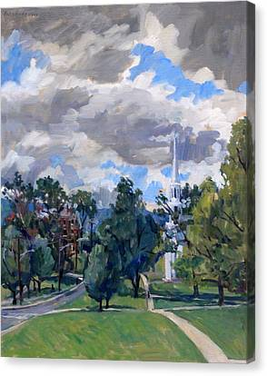 Williamstown Cloudy Canvas Print