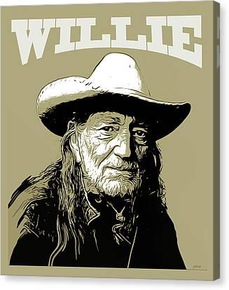 Canvas Print - Willie 2 by Greg Joens