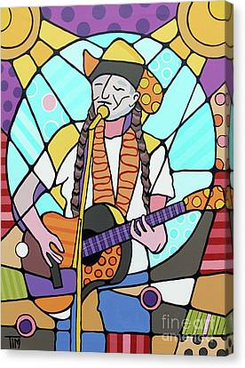 Canvas Print - Willie by Tim Ross