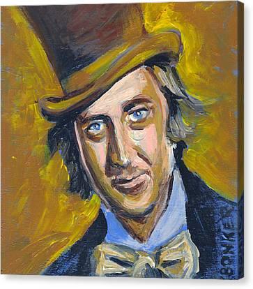 Willly Wonka Canvas Print by Buffalo Bonker